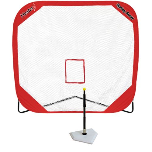 Heater Sports Spring Away Batting Tee and 7'