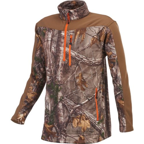 Magellan Outdoors™ Men's Hunt Gear Performance 1/2 Zip Fleece Pullover