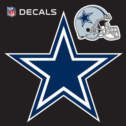 Stockdale Dallas Cowboys 12' x 12' Repositionable Logo/Bonus Decal