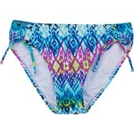 Aqua Couture Women's New Ikat Island Hipster Swim Bottom