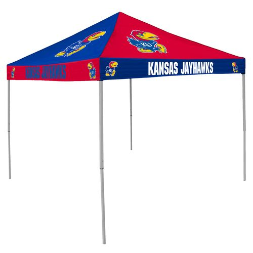 Logo™ University of Kansas Straight-Leg 9' x 9' Checkerboard Tent