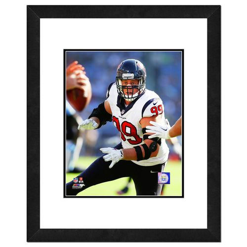 "Photo File Houston Texans J.J. Watt 8"" x"