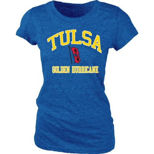 Blue 84 Juniors' University of Tulsa Triblend T-shirt - view number 1