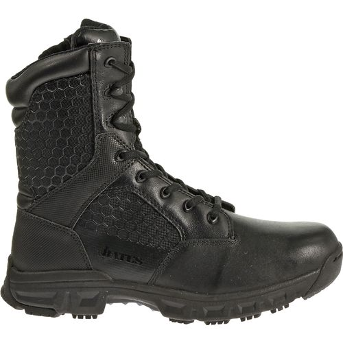 Bates Men's Code 6 8' Side-Zip Service Boots