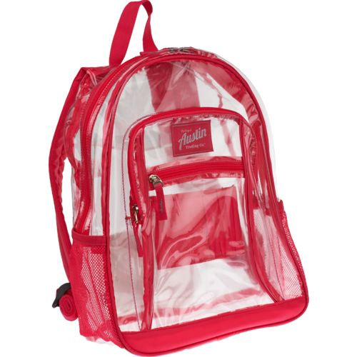 Display product reviews for Austin Trading Co.™ Clear Backpack