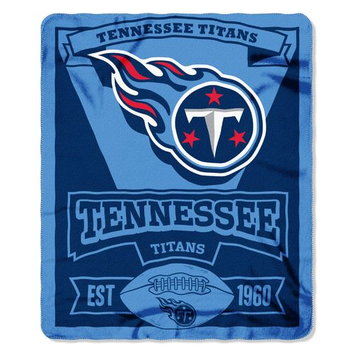 The Northwest Company Tennessee Titans Marquee Fleece Throw - view number 1