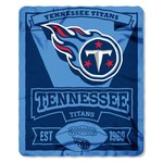 The Northwest Company Tennessee Titans Marquee Fleece Throw