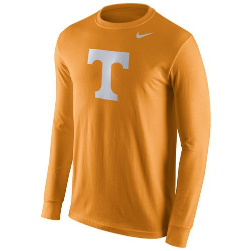 Nike™ Men's University of Tennessee Cotton Long Sleeve Logo T-shirt