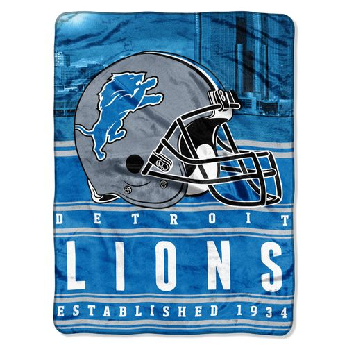 The Northwest Company Detroit Lions Stacked Silk Touch Throw