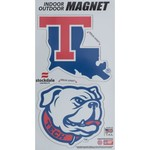 Stockdale Louisiana Tech University Logo Magnets Multipack