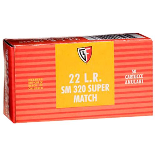 Display product reviews for Fiocchi Supermatch .22 Long Rifle 40-Grain Rimfire Ammunition