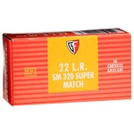 Fiocchi Supermatch .22 Long Rifle 40-Grain Rimfire Ammunition