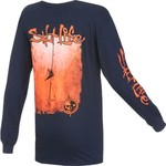 Salt Life Men's Hook Line and Sinker Fade Long Sleeve T-shirt