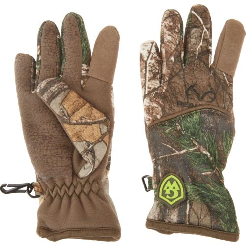 Game Winner Kids' Mid-Weight Softshell Fleece Shooter Gloves