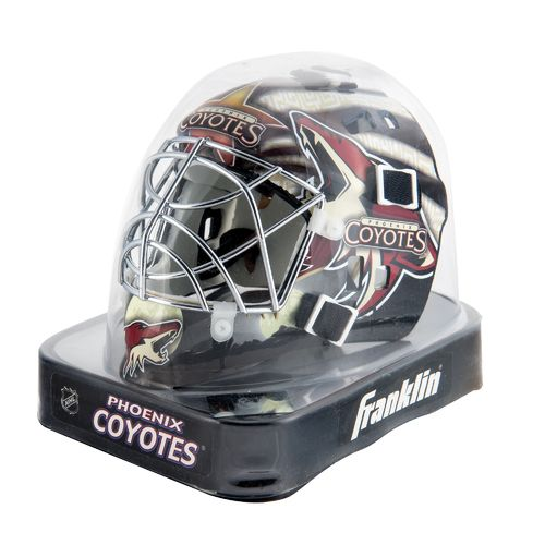 Franklin NHL Team Series Arizona Coyotes Mini Goalie Mask - view number 2