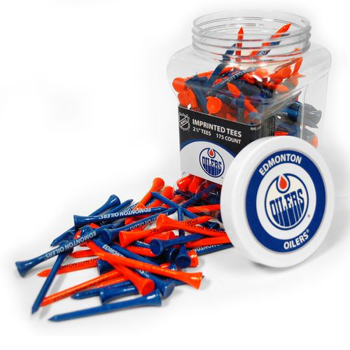 Team Golf Edmonton Oilers Tees 175-Pack