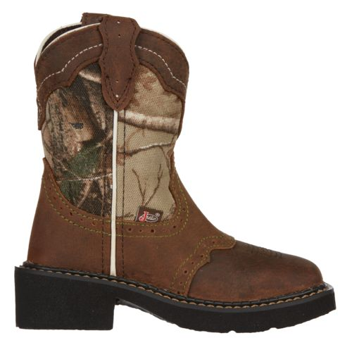 Justin Girls' Aged Bark Gypsy Western Boots - view number 1