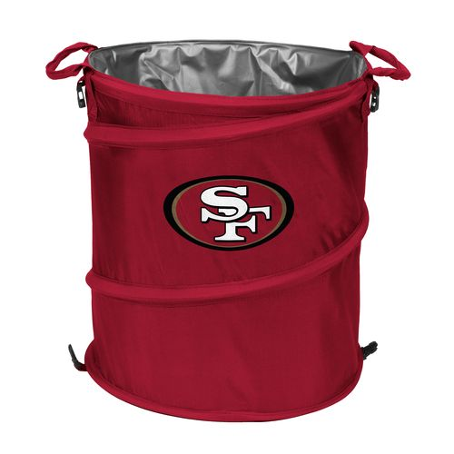 Logo™ San Francisco 49ers Collapsible 3-in-1 Cooler/Hamper/Wastebasket