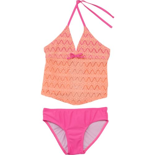 Org Kids Girls' Kitty Crochet 2-Piece Tankini