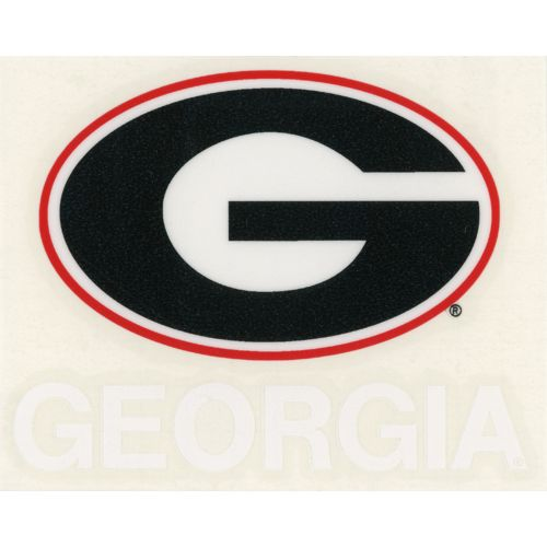 "Stockdale University of Georgia 4"" x 7"" Decals 2-Pack"