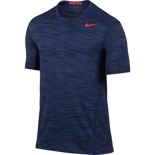 Nike Men's Hypercool Space Dye Fitted Short Sleeve