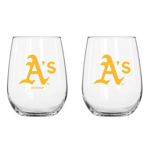 Boelter Brands Oakland Athletics 16 oz. Curved Beverage