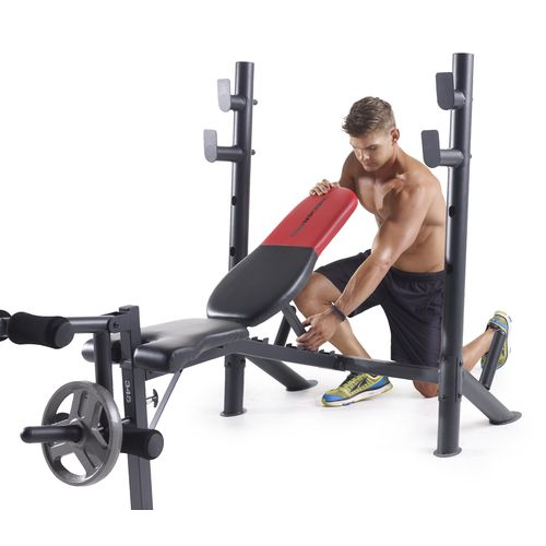 Weider Pro 345 Mid Width Weight Bench - view number 3