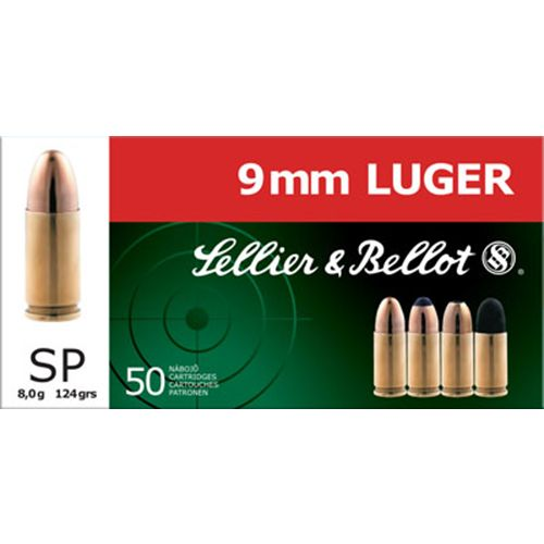 Sellier & Bellot Soft Point Centerfire Handgun Ammunition