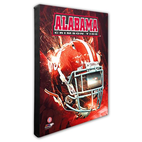 Photo File University of Alabama Helmet Stretched Canvas Photo