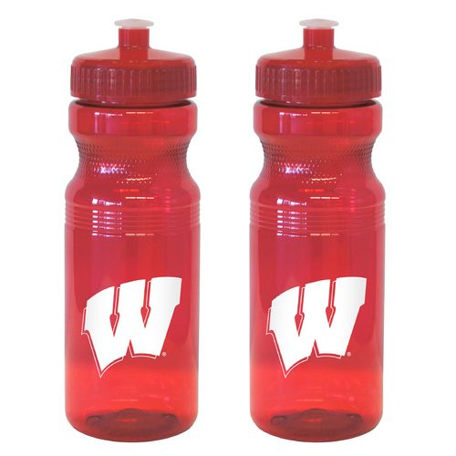 Boelter Brands University of Wisconsin 24 oz. Squeeze Water Bottles 2-Pack