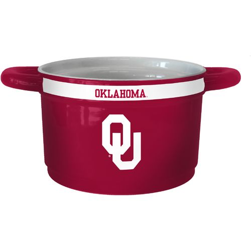 Boelter Brands University of Oklahoma Gametime 23 oz. Ceramic Bowl