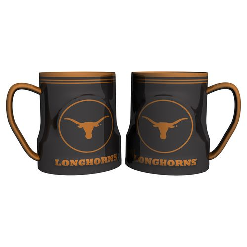Boelter Brands University of Texas Gametime 18 oz. Mugs 2-Pack