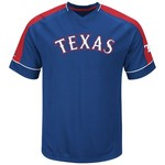 Majestic Men's Texas Rangers Lead Hitter T-shirt