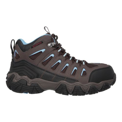 SKECHERS Womenu0026#39;s Blais Ebz Steel-Toe Work Boots | Academy