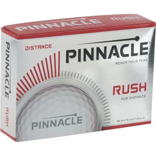 Pinnacle Rush Golf Balls 12-Pack