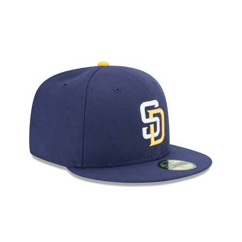New Era Men's San Diego Padres AC Perf 59FIFTY Cap - view number 3
