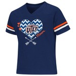 Colosseum Athletics Girls' University of Texas at El Paso Football Fan T-shirt