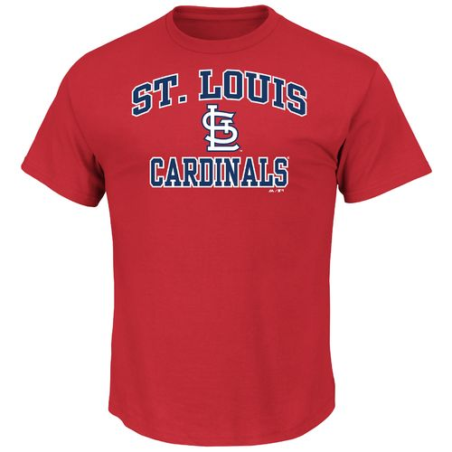 Majestic Men's St. Louis Cardinals Heart and Soul T-shirt
