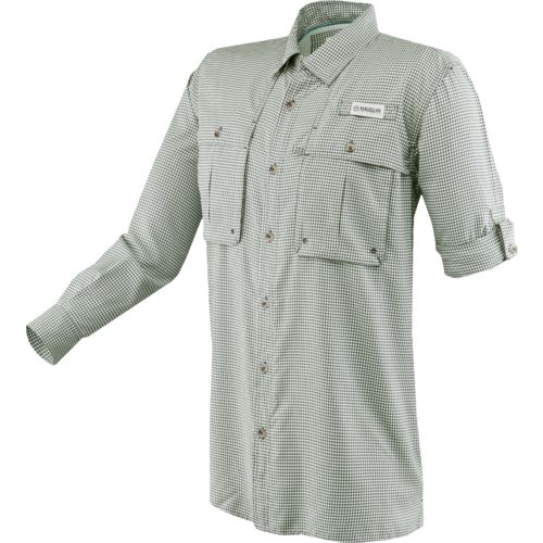 Magellan Outdoors Men's Aransas Pass Long Sleeve Gingham Fishing Shirt