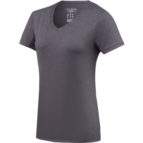 Display product reviews for Champion Women's Authentic Jersey V-neck T-shirt