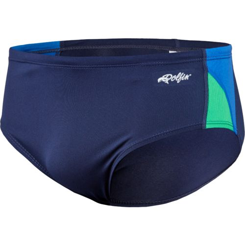 Dolfin Men's Colorblock Racer Swimsuit