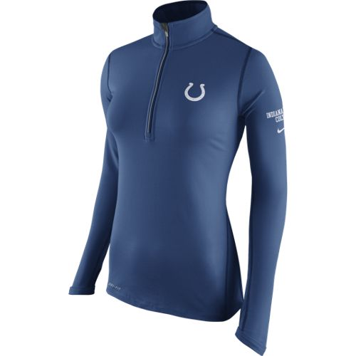 Nike Women's Indianapolis Colts Tailgate Element 1/2 Zip Top