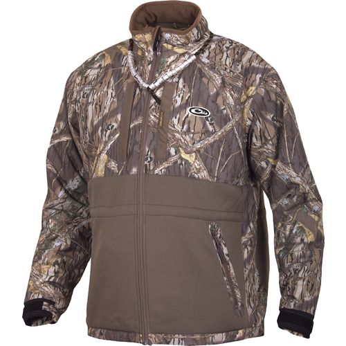 Drake Waterfowl Men's LST Heavyweight Eqwader Full Zip Camo Jacket
