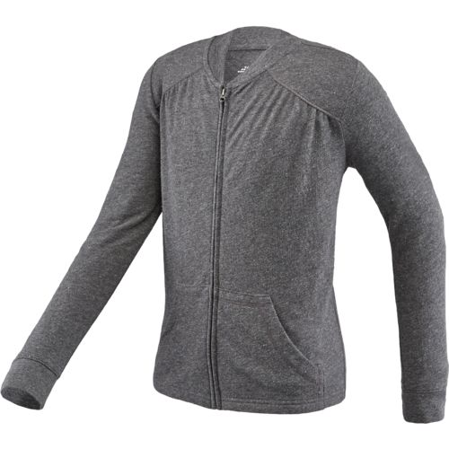 BCG™ Girls' Lifestyle Lightweight Front Zip Jacket