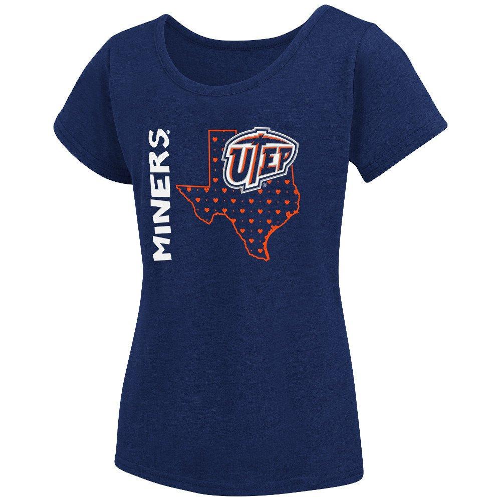 Colosseum Athletics Girls' University of Texas at El Paso T-shirt