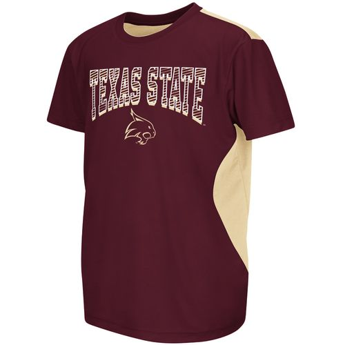 Display product reviews for Colosseum Athletics™ Boys' Texas State University Short Sleeve T-shirt