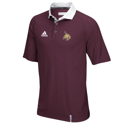 adidas™ Men's Texas State University climachill™ Sideline Polo Shirt