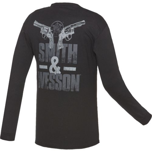 Smith & Wesson Men's 2 Guns Long Sleeve T-shirt