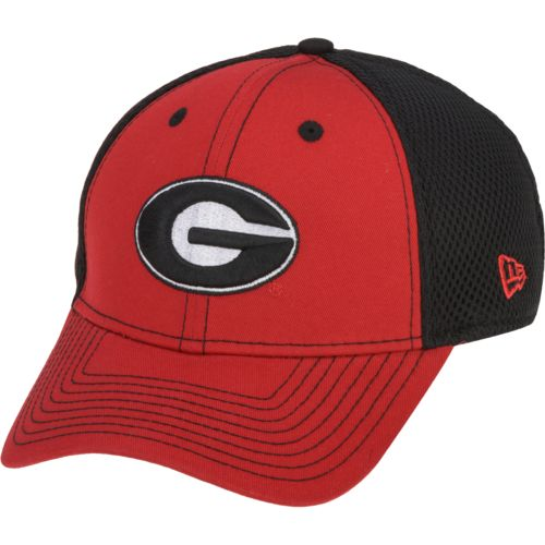 New Era Men's University of Georgia Team Front 39THIRTY Neo Cap
