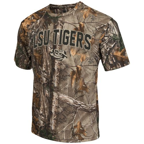 Colosseum Athletics™ Men's Louisiana State University Camo Brow Tine T-shirt